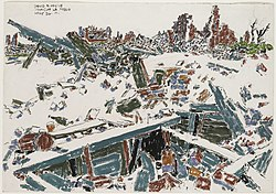 David Milne - Entrance to Cellar Shelter in Monchy-le-Preux.jpg
