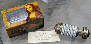 Cryptex - Replica cryptex: prize from Google Da Vinci Code Quest Contest