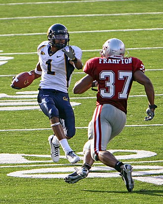 DeSean Jackson - Jackson in 2006 matched against Washington State strong safety Eric Frampton
