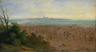 The French army at Naarden, 20 July 1672