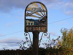 Debach Village Sign - geograph.org.uk - 1029744.jpg