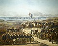 Debarquement des Français et des Anglais dans la baie de Kalamita le 14 septembre 1854.jpg