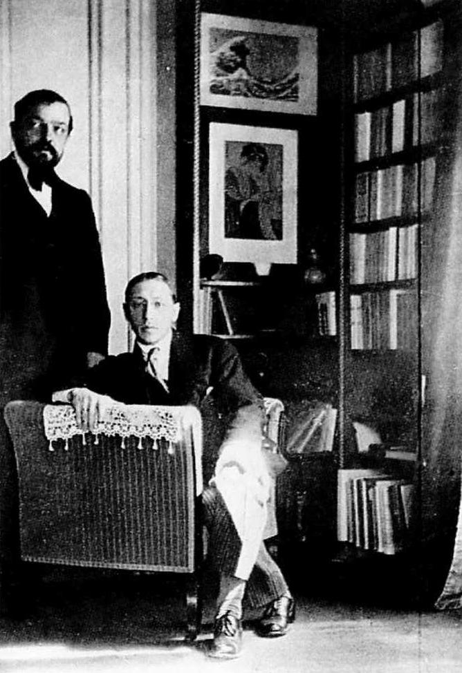 Debussy Stravinsky 1910