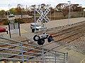 Dedham Branch grade crossing at Readville, November 2015.JPG