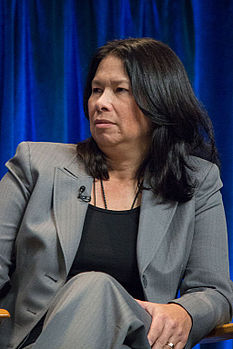 Dee Johnson at PaleyFest 2013.jpg