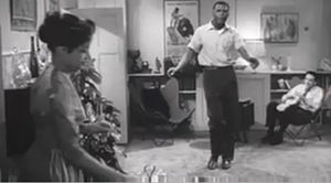 Edge of the City - Ruby Dee, Sidney Poitier and John Cassavetes