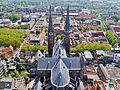 Delft Blick von der Nieuwe Kerk auf die Maria-van-Jessekerk 08.jpg