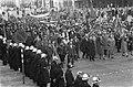 Demonstraties in Luik tegen de Eenheidswet, demonstranten trekken door Luik, Bestanddeelnr 911-9345.jpg