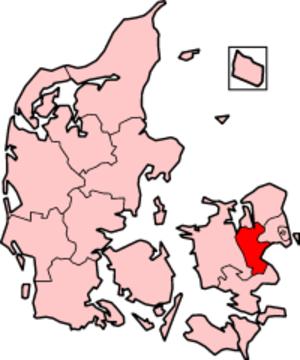 Roskilde County - Roskilde County in Denmark