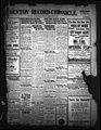 Denton Record-Chronicle. (Denton, Tex.), Vol. (16), No. 35, Ed. 1 Friday, September 24, 1915 - DPLA - 0442449d46f25149863c955989f65edd (page 1).jpg