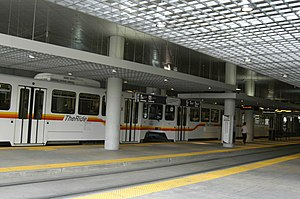 Theatre District–Convention Center station - Image: Denver convention center rtd