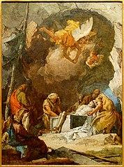 Deposizione del corpo di Cristo nel sepolcro