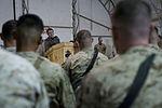 Deputy Secretary of Defense Ash Carter, at lectern, speaks with U.S. troops at Camp Leatherneck in Helmand province, Afghanistan, Nov. 29, 2013 131129-D-BW835-162.jpg
