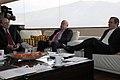 Desayuno de Trabajo del Sr. Canciller Ricardo Patiño con el Sr. Vicepresidente del Ecuador Lenin Moreno y José Miguel Insulza, secretario general de la OEA. (7171239204).jpg