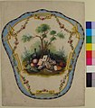Design for a Firescreen with Picnic Scene and Playing Cards MET 66.551.28.jpg