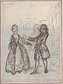 """Design for a Scene in de Laujon's """"L'Amoureux de quinze ans, ou la Double-Fête..."""" MET DP806579.jpg"""