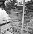 Detail noordwesttoren, tijdens restauratie - Deventer - 20336259 - RCE.jpg