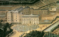Detail of the Château de Saint-Cloud, 1675 (painting by Étienne Allegrain).jpg