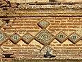 Detalle de la iglesia mudejar de Santa Olalla. Puebla de la Reina. Badajoz.JPG