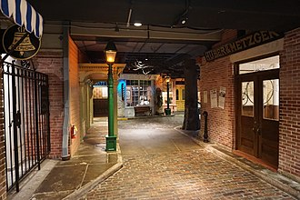 Detroit Historical Museum - The Streets of Old Detroit exhibit
