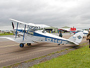 de Havilland DH 83 Fox Moth.