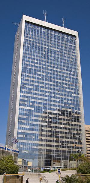 Moshe Schnitzer - IDE Diamond Tower, opened in 1992