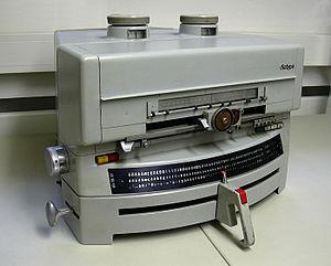Berthold Type Foundry - A Berthold Diatype machine