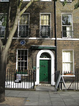 Dickens Fellowship - Charles Dickens Museum in London, the headquarters of The Dickens Fellowship