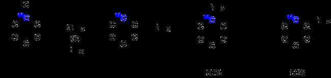 Nachweis von Arinen durch 14C-Markierungsreaktion