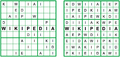 Didoku Sudoku puzzle and Solution with inscription WIKIPEDIA www.didoku.com MiguelPalomo.png