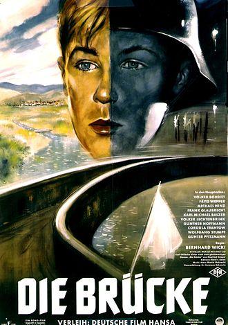 Die Brücke (film) - Film poster by Helmuth Ellgaard