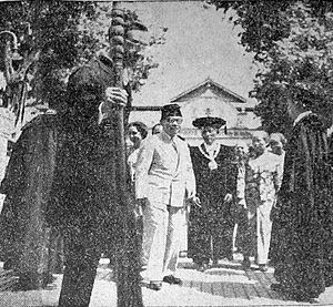Gadjah Mada University - Dies Natalis celebrations in 1950