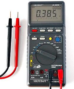 250px Digital Multimeter Aka