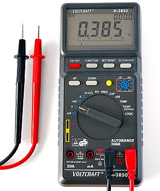 Electronic test equipment -  Howard piA digital multimeter