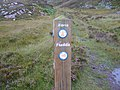 Direction marker - geograph.org.uk - 544343.jpg