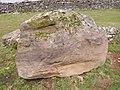 Dislodged erratic boulder - geograph.org.uk - 739264.jpg