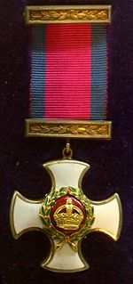 Distinguished Service Order UK military decoration