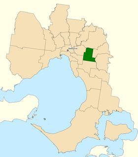 Division of Chisholm Australian federal electoral division