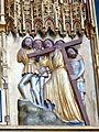 Doberan Münster - Kreuzaltar Christusseite 5 Kreuztragung.jpg