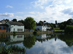 Great Dunmow - Doctors Pond in Great Dunmow