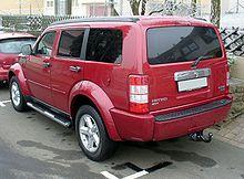 Dodge nitro wikipedia dodge nitro sxt 4x4 sciox Choice Image