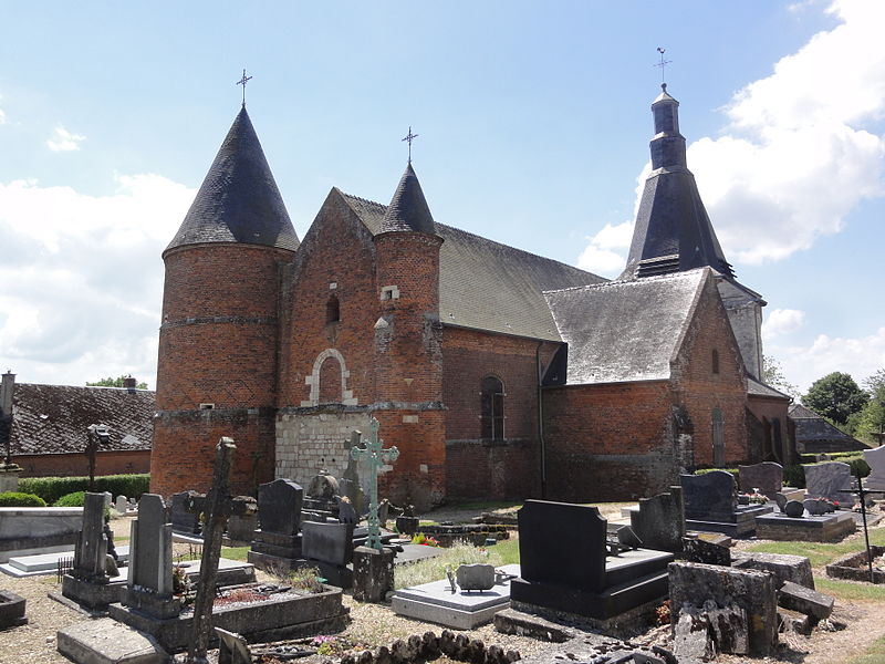 Dohis (Aisne) église, extérieur