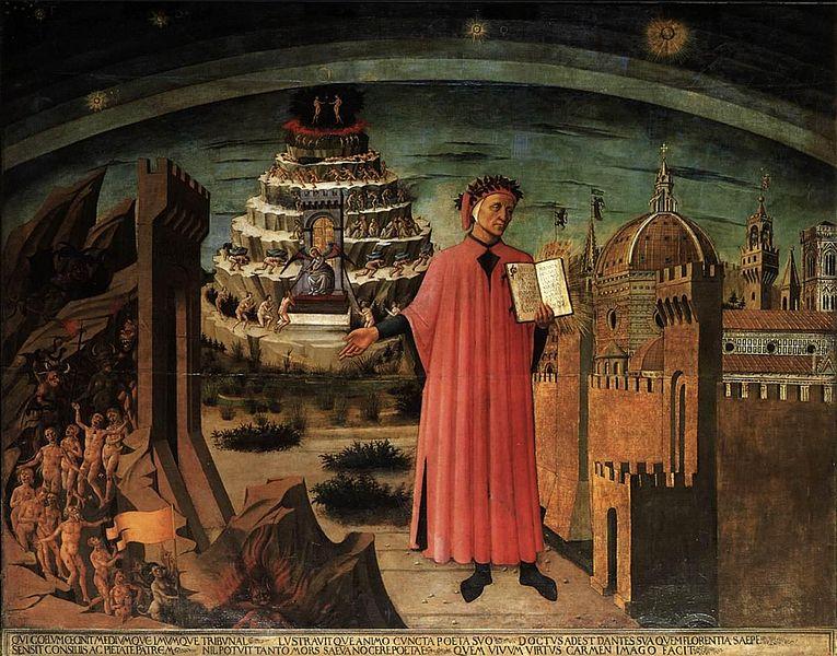 File:Domenico di Michelino - Dante and the Three Kingdoms - WGA06421.jpg
