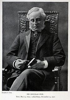 Charles Douglas Fox British engineer