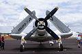 Douglas EA-1E Skyraider HeadOn SNF 16April2010 (14630429485).jpg