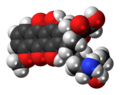 Doxorubicin 3D spacefill.png