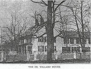 Samuel Willard (physician) - Dr. Samuel Willard House and Insane Asylum, established circa 1770