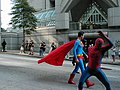 DragonCon Parade-Spiderman Checks His Deodorant - Flickr - moria.jpg