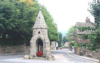 Dronfield - The Peel Monument