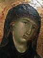 Duccio di Buoninsegna, Madonna col Bambino, particolare.jpg